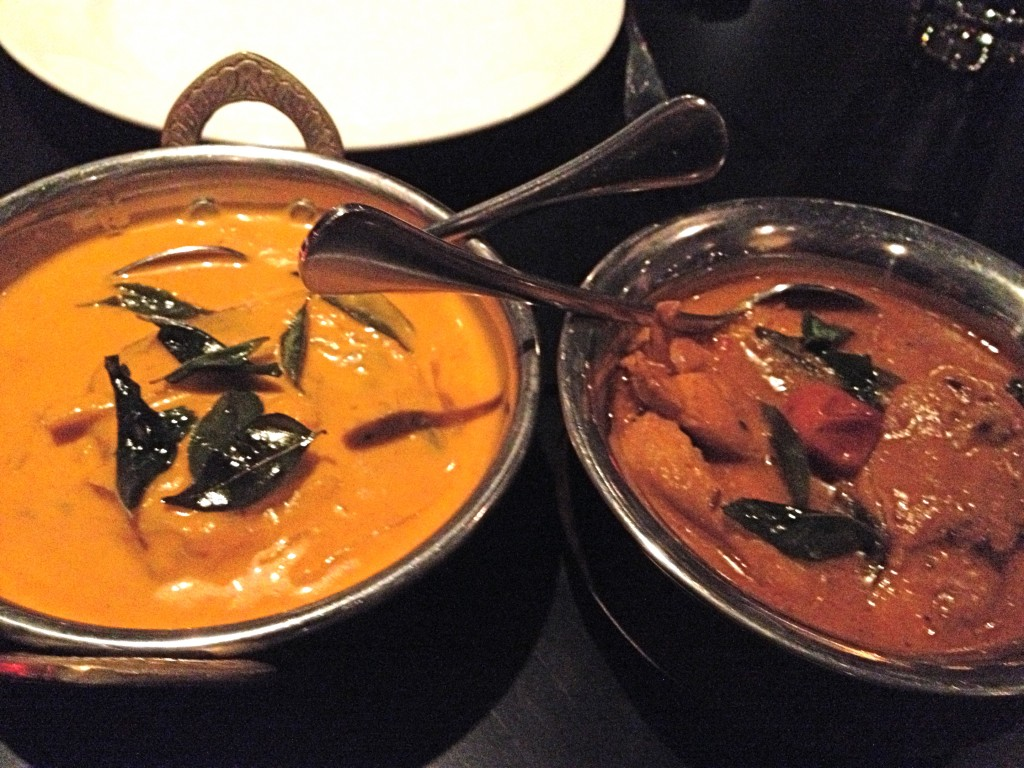 Keralan Fish Curry and Chennai Chicken Curry 