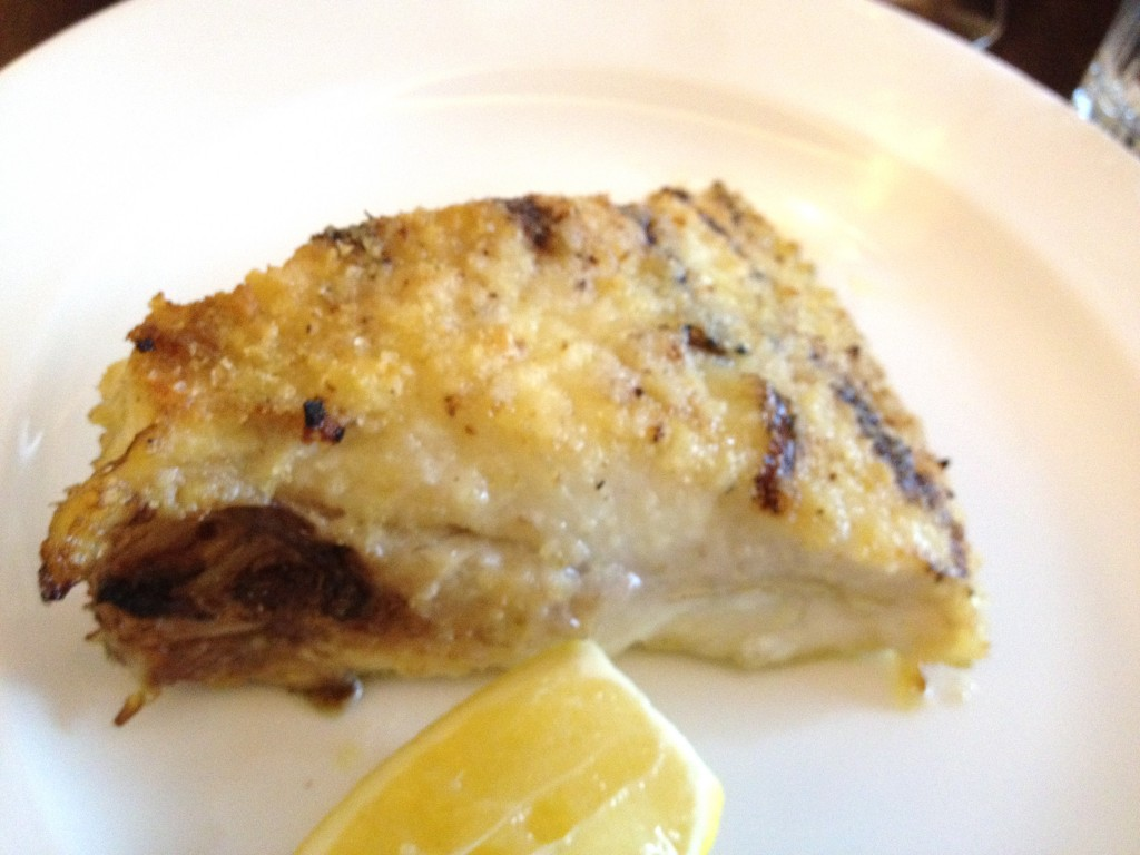 Turbot Hawksmoor cut grilled over charcoal