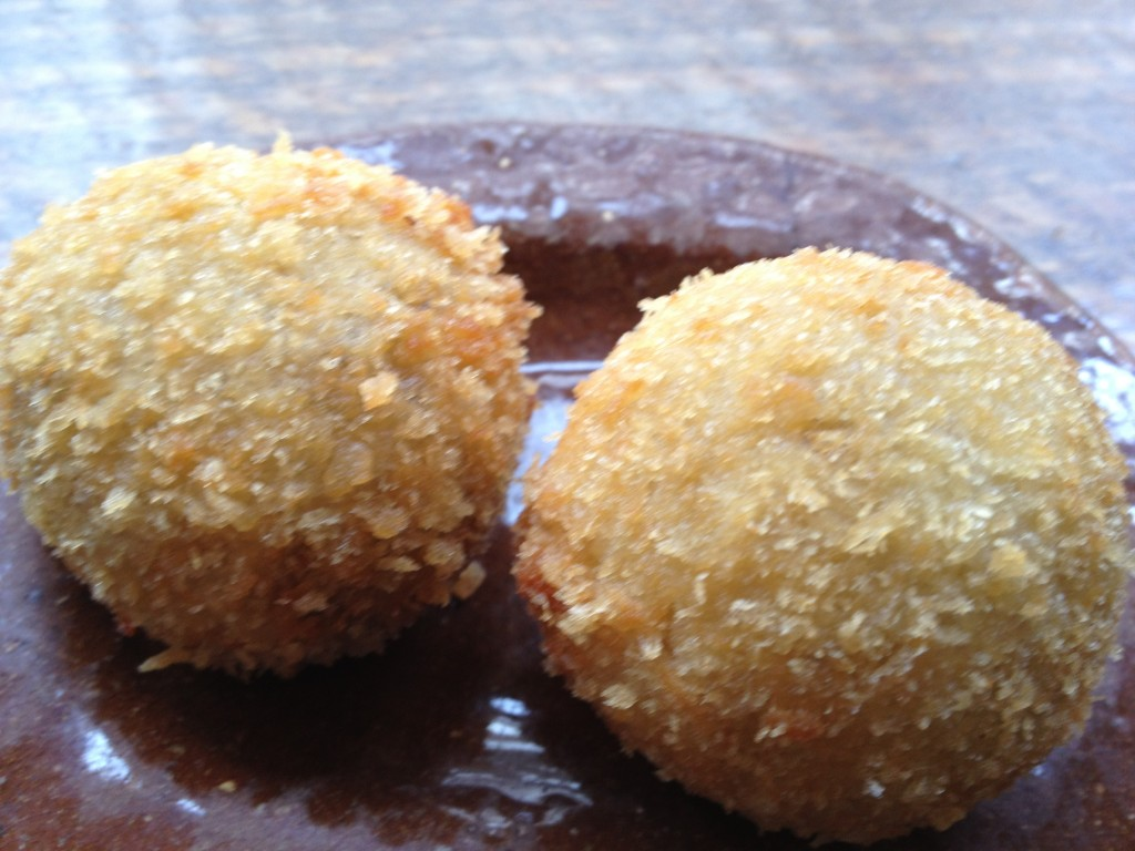 Mushroom croquettes