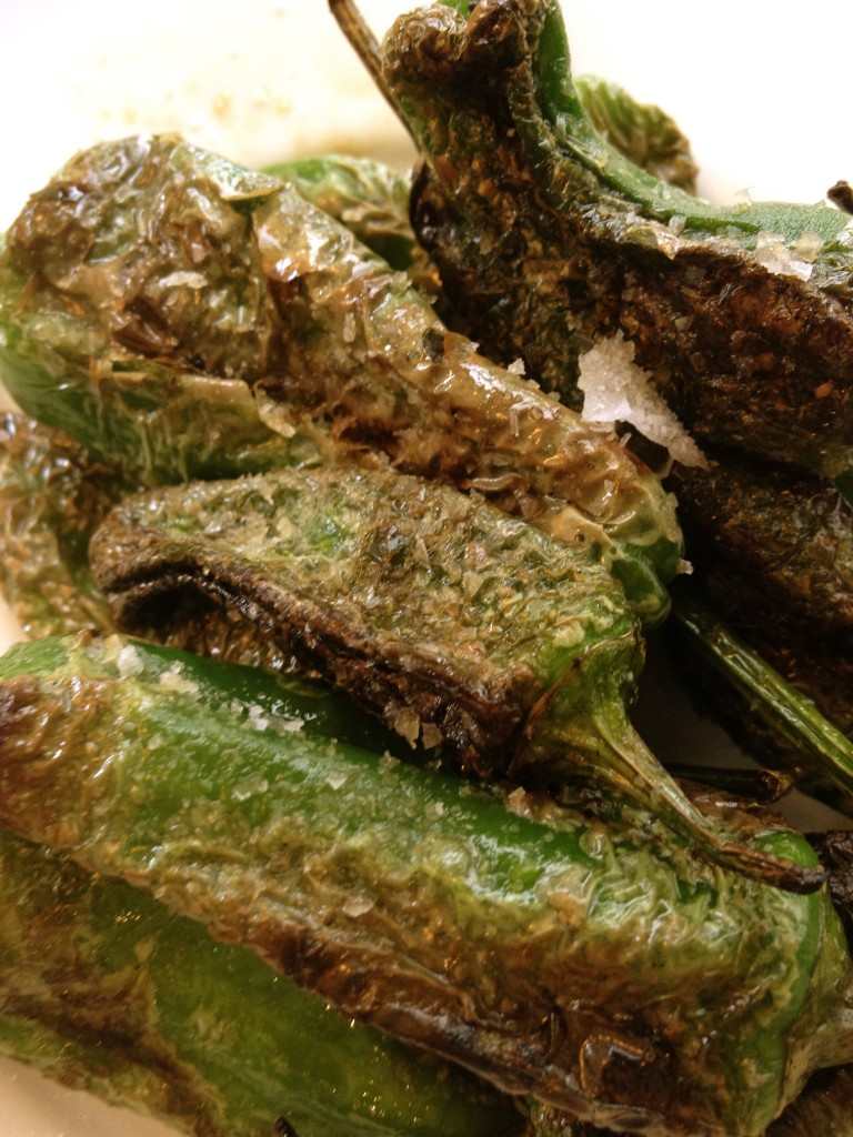 Padron Peppers with Maldon Sea Salt