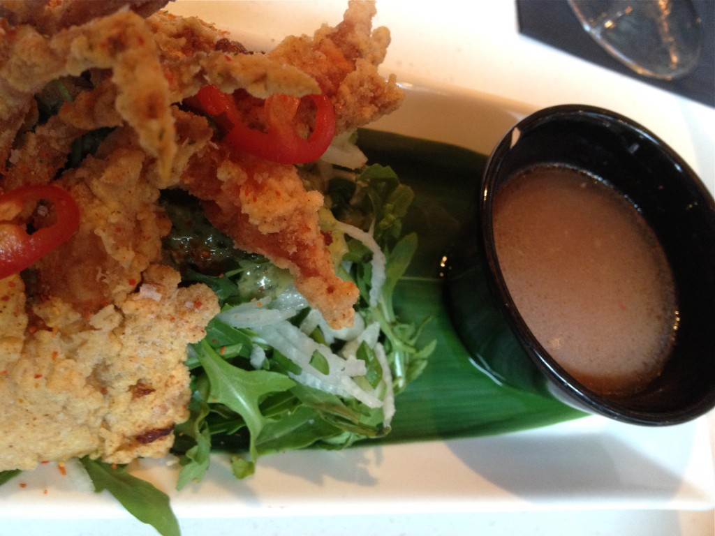 Soft Shell Crab Tempura  @ itsu