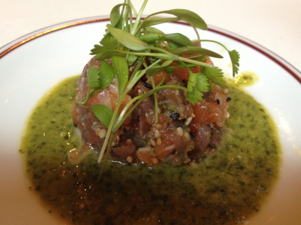Tuna and Salmon Tartar