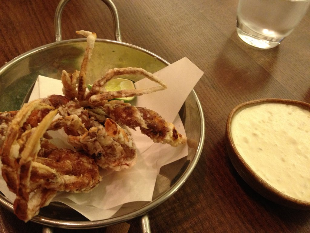 Soft shell crab @ Flesh & Buns
