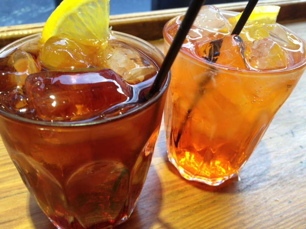 Negroni  and Aperol Spritz