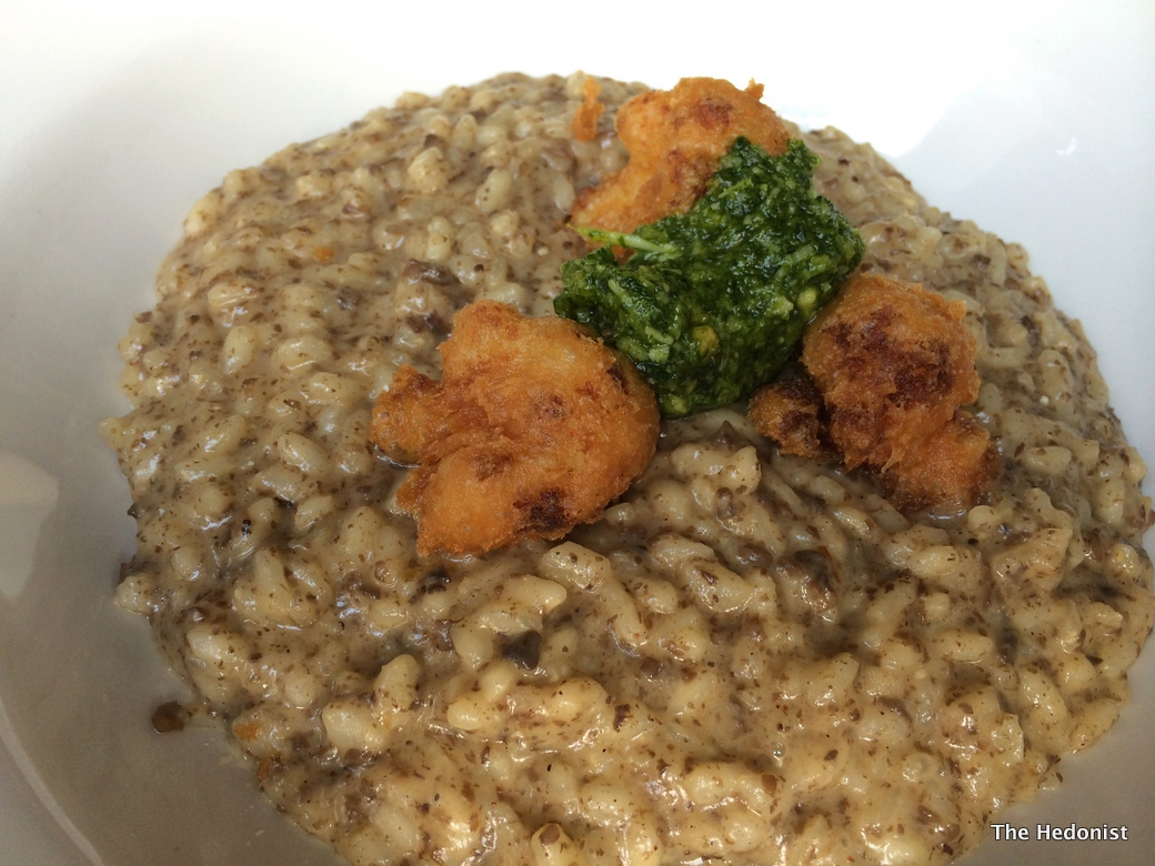 The Well risotto