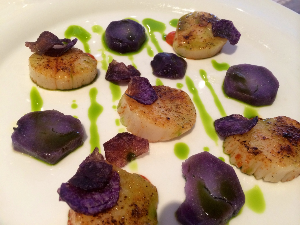Osteria dell Angelo scallops