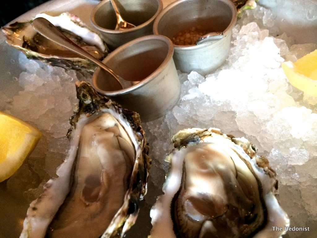 The Richmond  oysters
