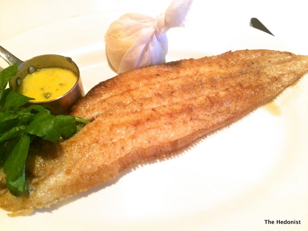 New St Grill Dover Sole