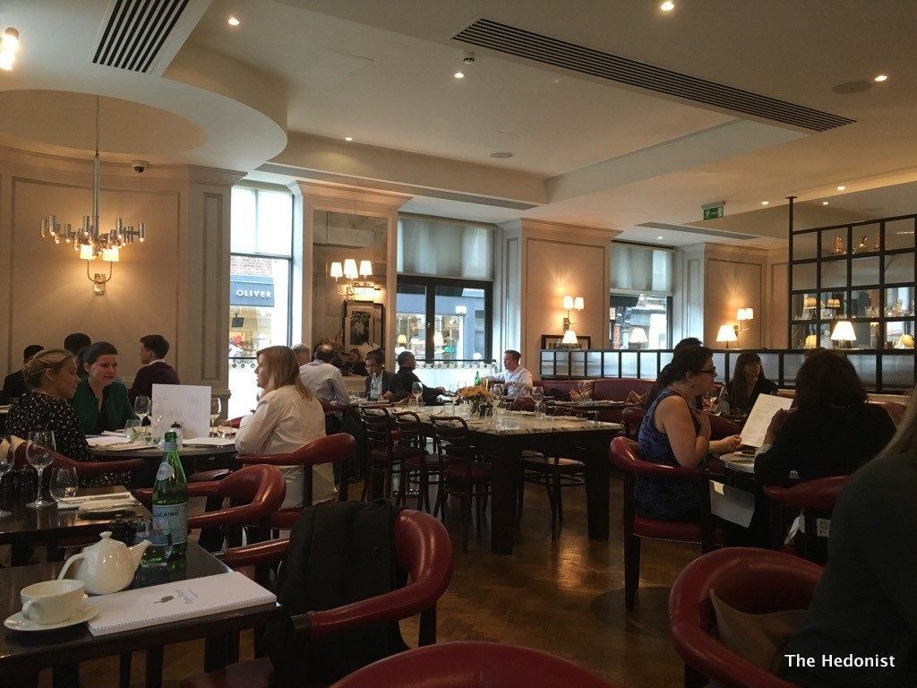 dish of the month at 108 brasserie in marylebone