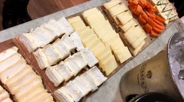Festive Port and Cheese matching at Paxton & Whitfield in Jermyn Street