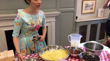 Italian Republic Day with Parmigiano Reggiano and Eleonora Galasso
