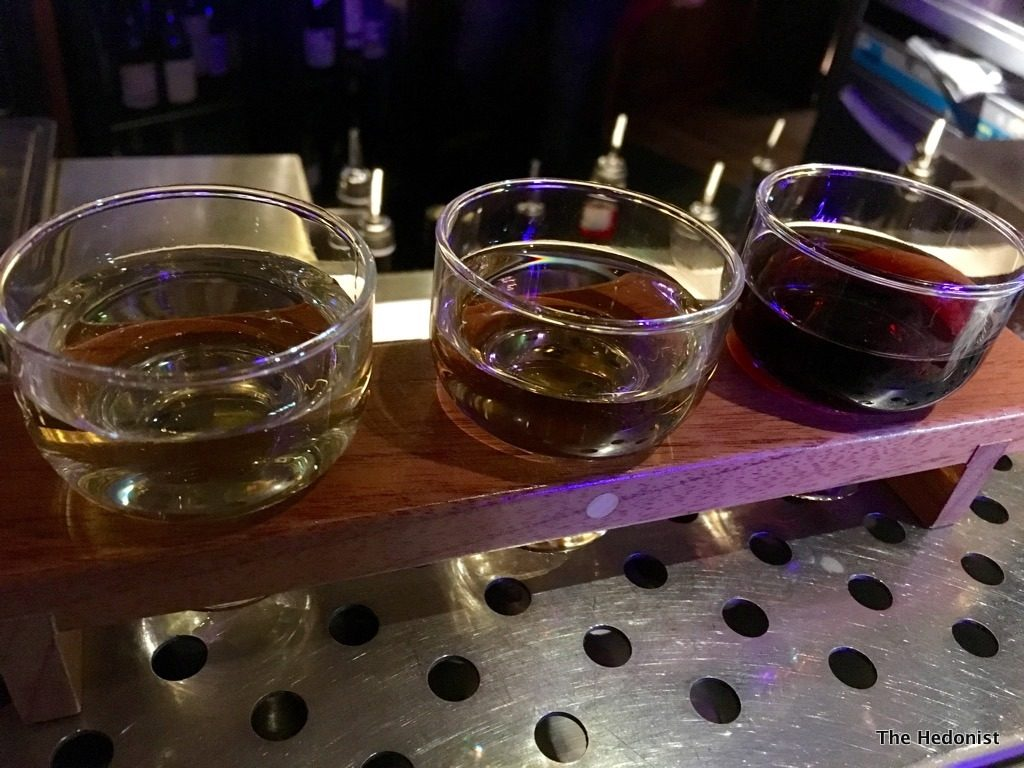 Circus XO sherry flight